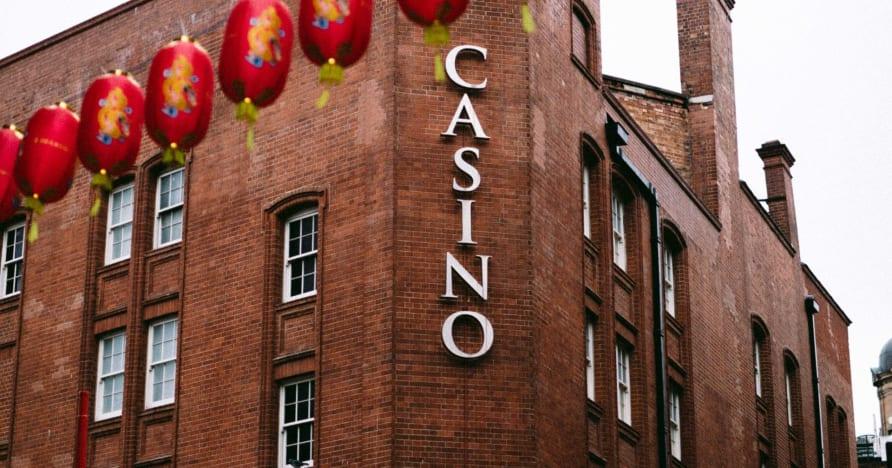 Darba sākšana mobilajā kazino