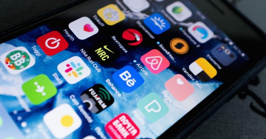 Mobilās azartspēļu lietotnes izvēle