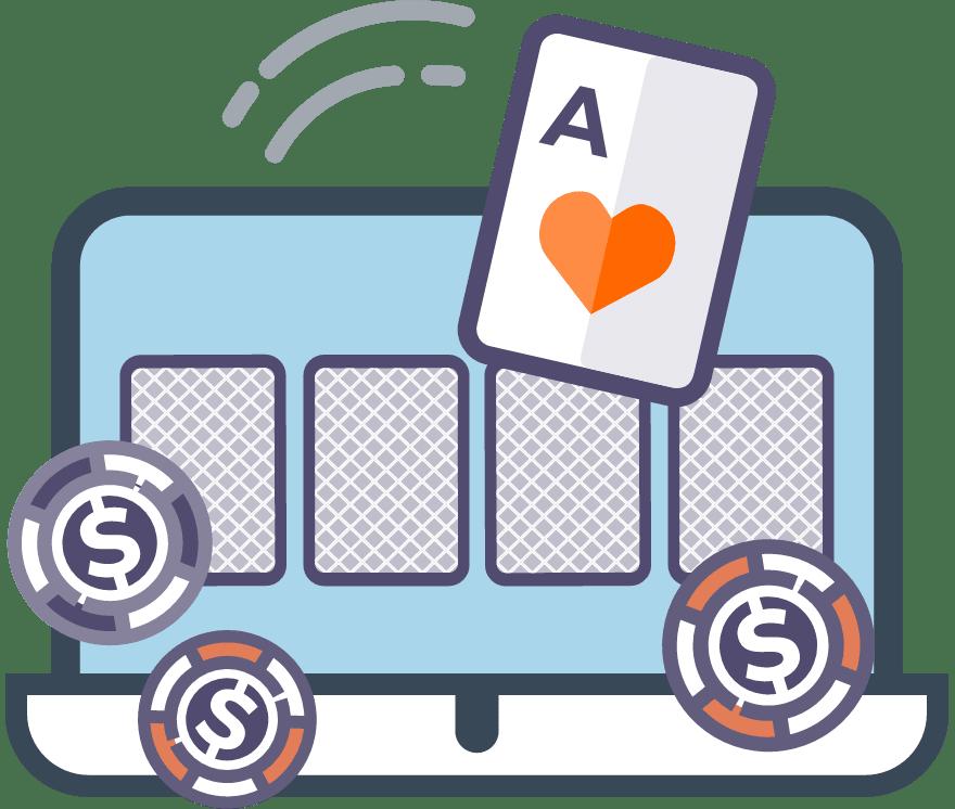 """Spēlēt Karību """"Stud"""" pokers Tiešsaistes -Top 30 Lielākie Laimesti Mobilais Kazinos 2021"""